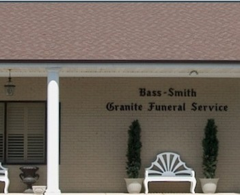 Exterior shot of Bass-Smith Funeral Home