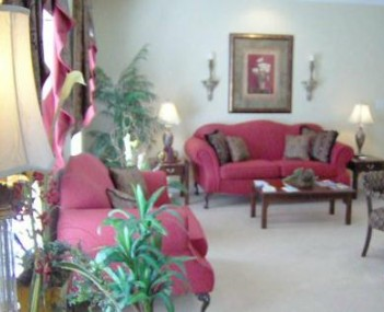 Interior shot of Peoples Funeral Home of Whiteville Incorporated