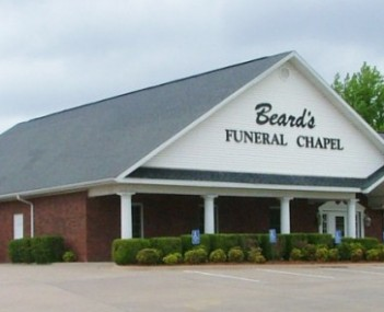 Exterior shot of Beard's Funeral Chapel