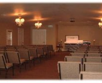 Interior shot of Heritage Funeral Home