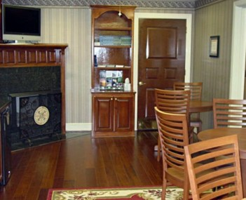 Interior shot of Edwards Funeral Homes