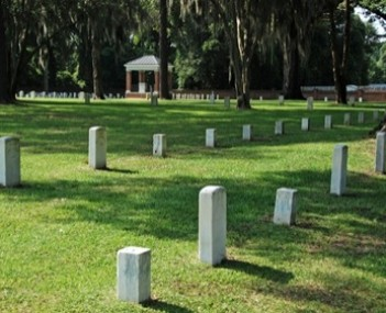 Exterior shot of National Cemetery