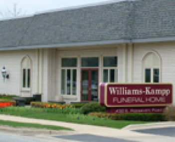 Exterior shot of Williams-Kampp Funeral Home