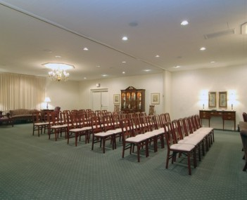 Interior shot of Williams-Kampp Funeral Home