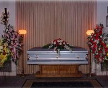 Interior shot of Dickey Mortuary