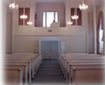 Interior shot Brown Colonial Mortuary