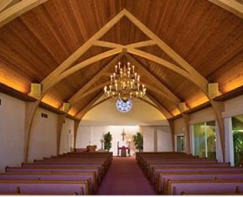 Interior shot of Saddleback Chapel Mortuary & Cremation Service