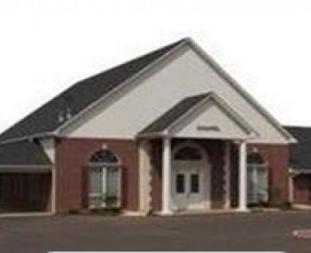 Exterior shot of Charles Rader Funeral Home