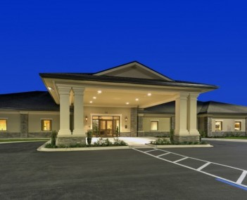 Exterior of Emerald Coast Funeral Home 850-864-3361