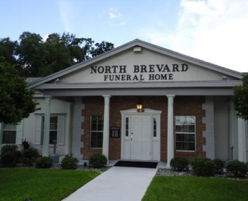 Exterior shot of North Brevard Funeral Home