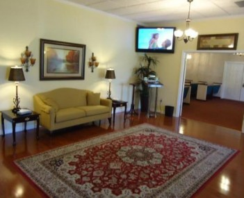 Interior shot of North Brevard Funeral Home