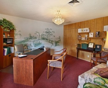 Interior shot of Charles Carroll Funeral Home