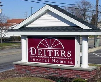 Exterior shot of Deiters Funeral Home