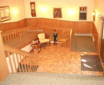 Interior shot of Svoboda Funeral Home