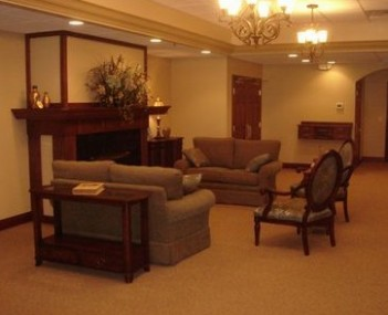 Interior shot of Christy-Smith Funeral Homes