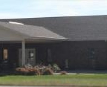 Exterior shot of Gass-Haney Funeral Home