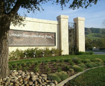 Front entrance gate at Mount Sinai Simi Valley