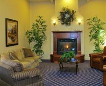 Interior shot of Bollman Funeral Home