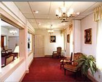 Interior shot of Fisher Funeral Home Incorporated