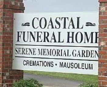 Exterior shot of Coastal Funeral Home & Crematory