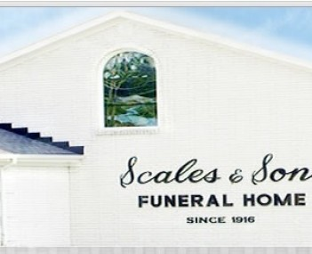 Exterior shot of H Preston Scales & Sons Funeral