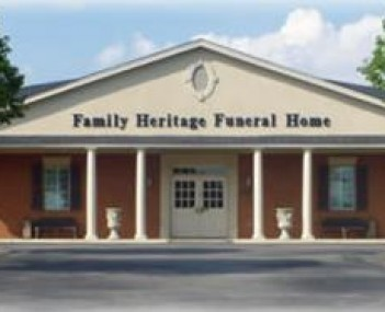 Exterior shot of Family Heritage Funeral Home