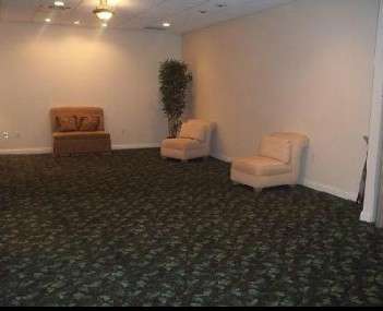 Interior shot of Taylor Funeral Home