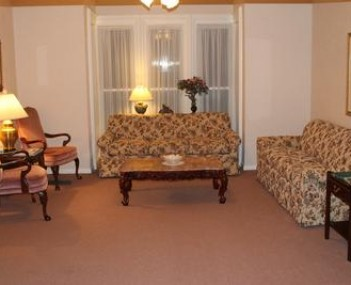 Interior shot of Shelly-Odell Funeral Home