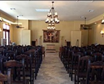 Interior shot of J Warren Funeral Svc Skyway