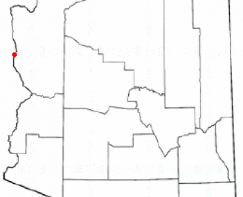 Location of Bullhead City, Arizona