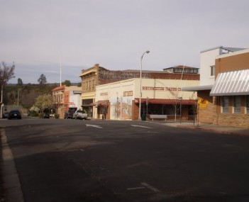 Historic downtown oroville