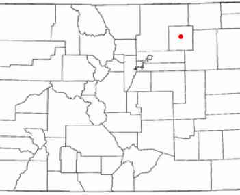 Location of Fort Morgan, Colorado