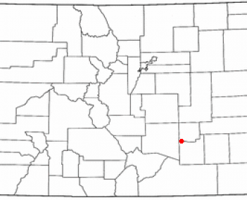 Location of Fowler, Colorado
