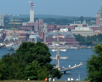 View of City of New London