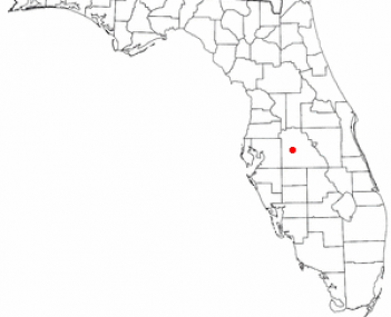 Location of Bartow, Florida