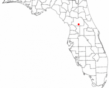 Location of Belleview, Florida