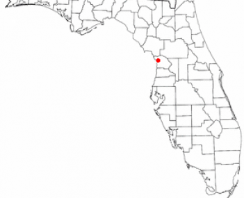 Location of Crystal River, Florida