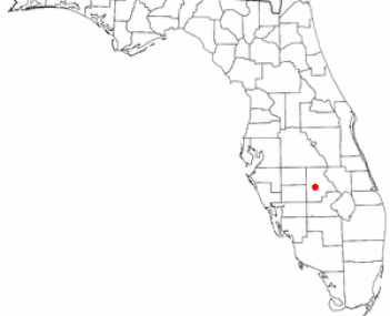 Location of Lake Placid, Florida