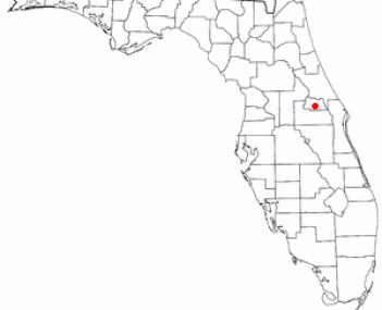 Location of Oviedo, Florida