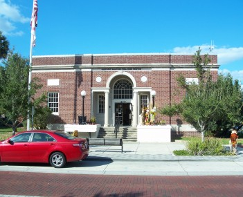 Historic Welcome Center in Downtown Sanford