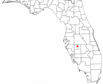 Location of Wauchula, Florida