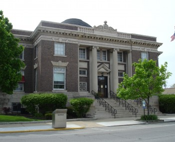 The Streator Public Library, a Carnegie library listed on the National Register of Historic Places.
