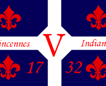 Flag for Vincennes