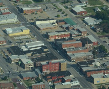 Aerial view of Chanute