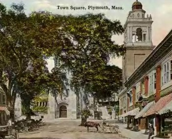 PlymouthMA TownSq 1910