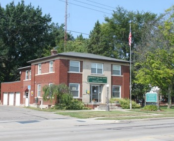 Blissfield township village hall