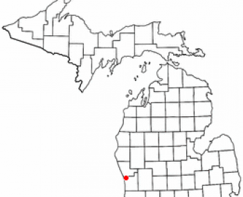 Location of Spring Lake, Michigan