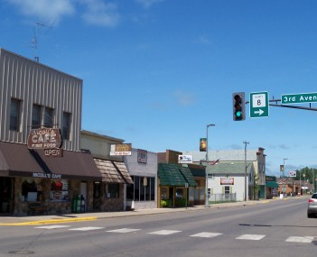 Downtown Pine City