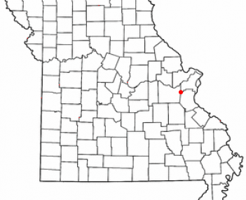 Location of Pacific, Missouri