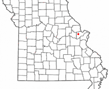 Location of Wentzville, Missouri